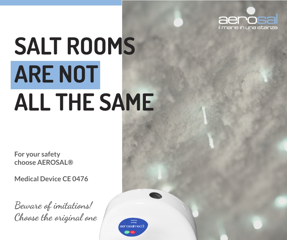 Salt rooms are not all the same