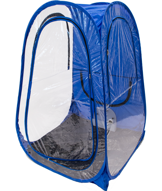 Aerosal Home®: tenda portatile e facilmente richiudibile