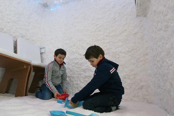 Aerosal Clinica del sale per Bambini