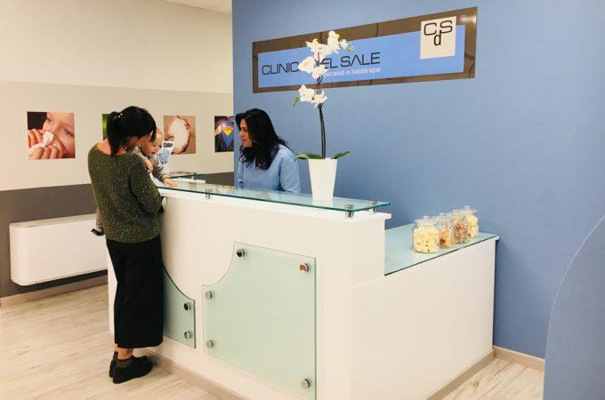 Clinica del Sale Reception | Aerosal